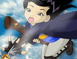 Ravenclaw Seeker by Glee-chan
