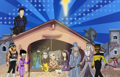 Strange Nativity by Glee-chan