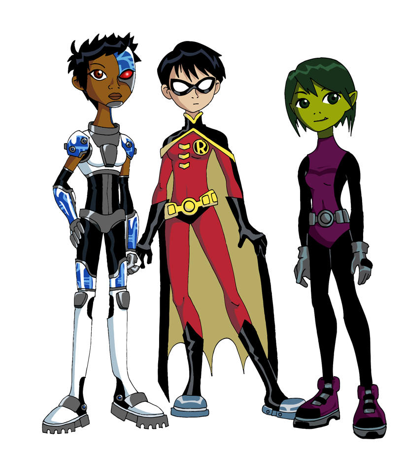 Gender Bender Teen Titans by Glee-chan