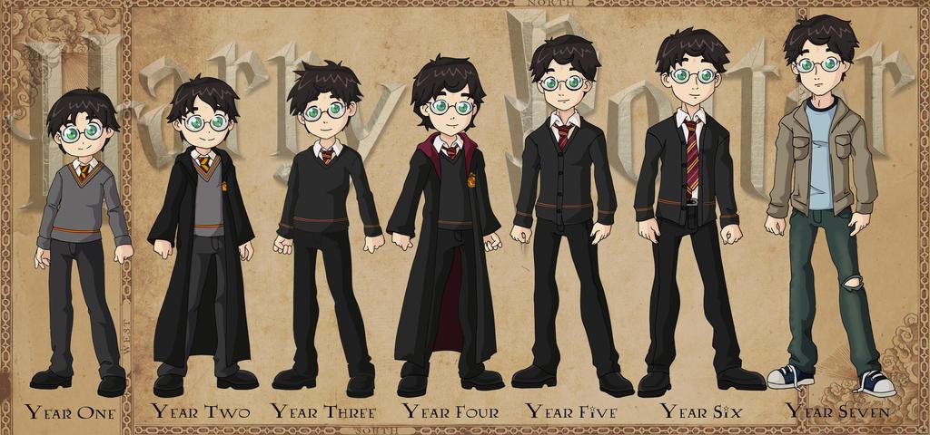 Harry Potter Book Timeline : Harry potter timeline by glee chan on deviantart