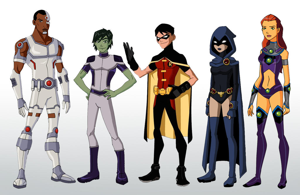 YJ Teen Titans By Glee chan On DeviantArt