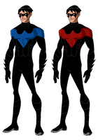 YJ Nightwing by Glee-chan