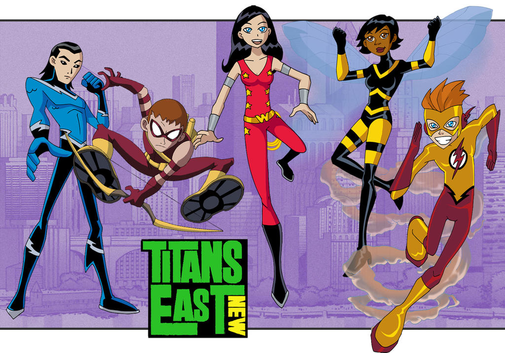 New Titans East by Glee-chan