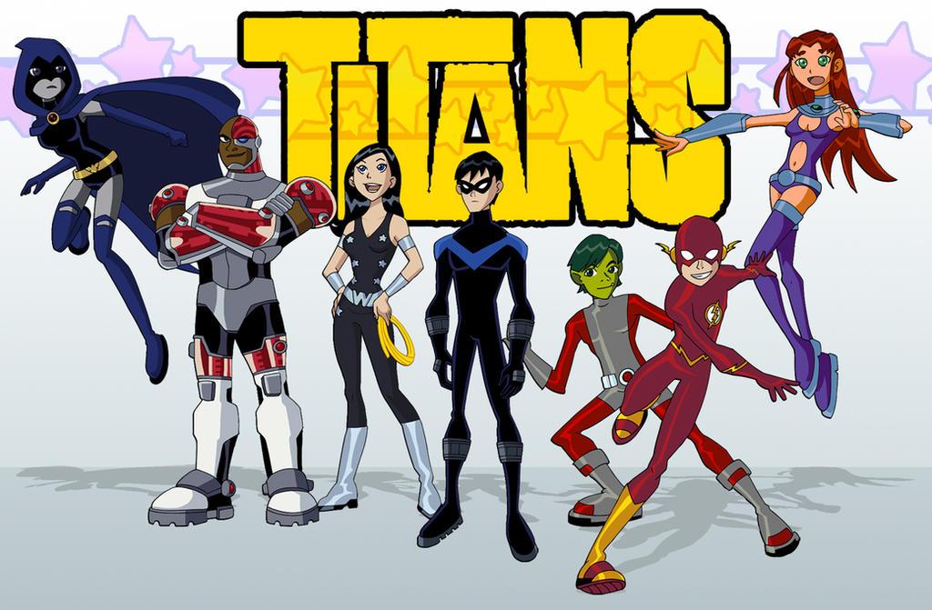 Titans By Glee-Chan On Deviantart