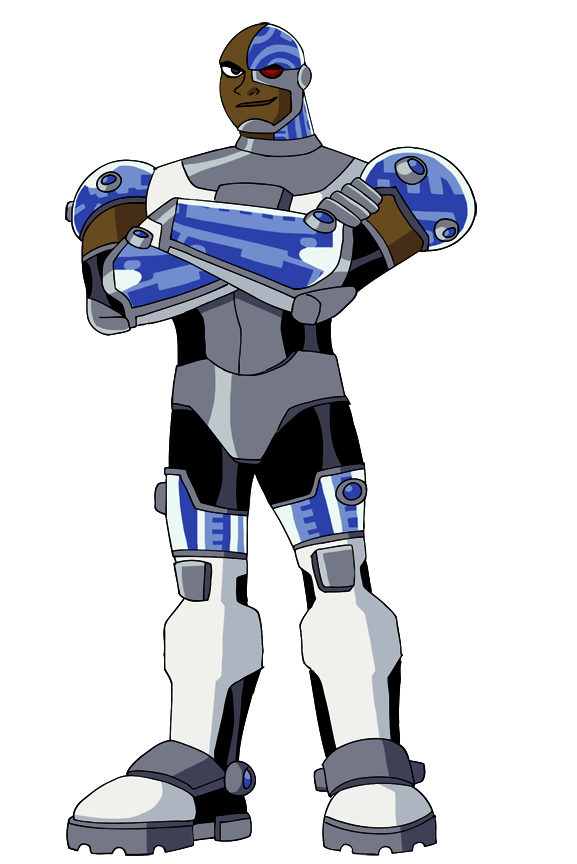 Cyborg Teen Titans 83