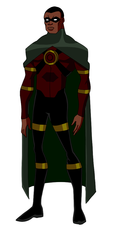 Redesign of Justice League character Young Justice Icon
