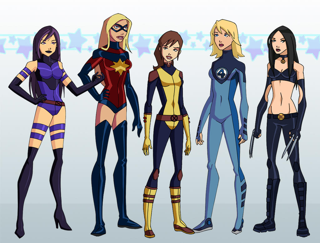 X Men Anime Characters Database : Marvel justice by glee chan on deviantart