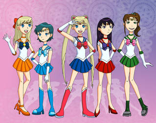 Pretty Soldier Sailor Titans? by Glee-chan