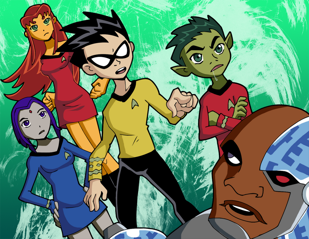 Trek Titans by Glee-chan