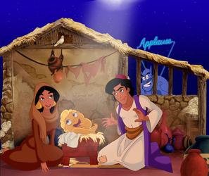 Disney Nativity by Glee-chan