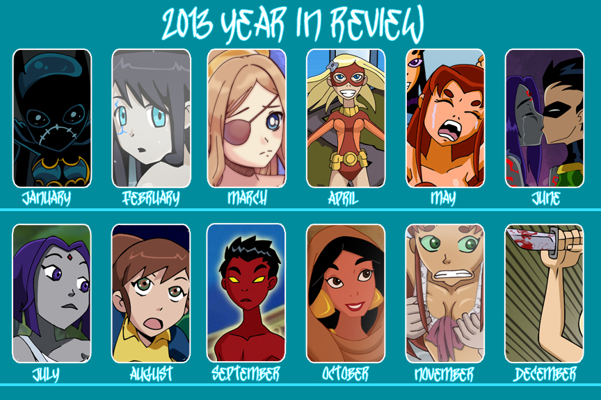 2013 Year In Review by Glee-chan