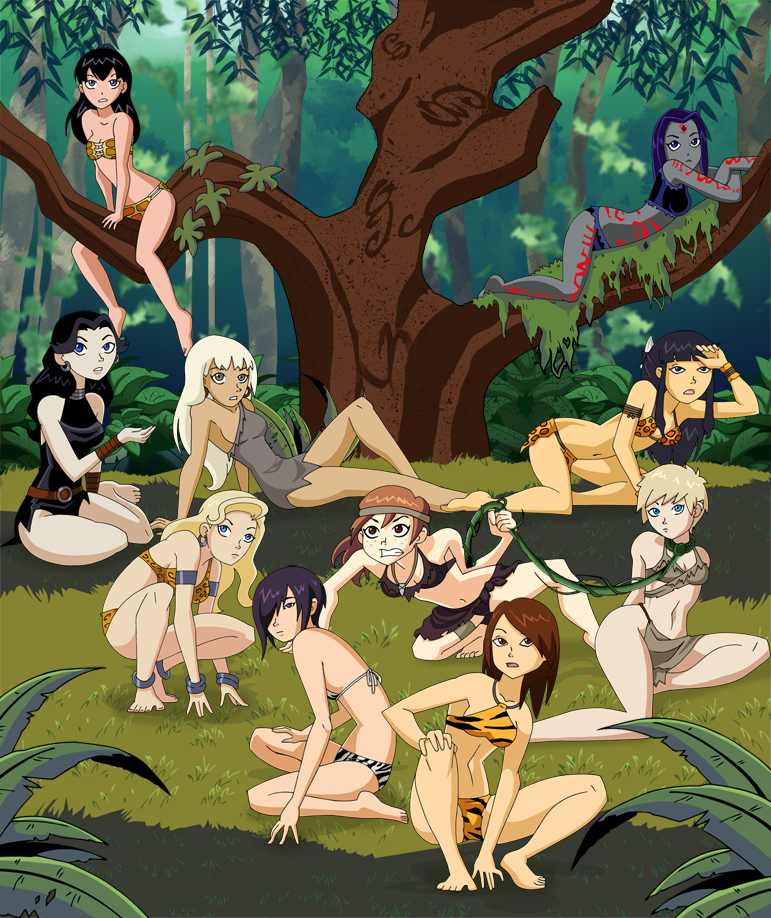 Really naked cartoon tarzan Feline