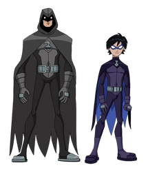 Condor-Man and Grackle: Batman and Robin Ripoffs! by Glee-chan