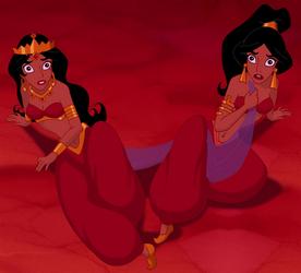 Badroulbadour and Jasmine: Arabian Princesses