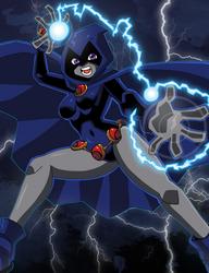 Raven in Adam Warren's Art Style.
