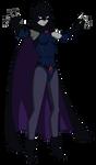 Justice League vs Teen Titans:  Raven