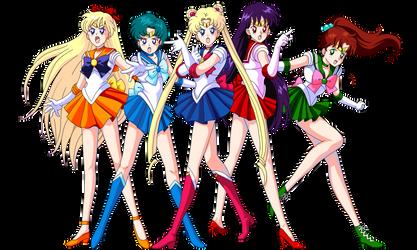 Sailor Senshi by Glee-chan