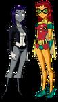 Halloween Titan Girls