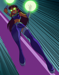 Starfire's... Starbolts
