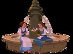 Belle meets Belle by Glee-chan