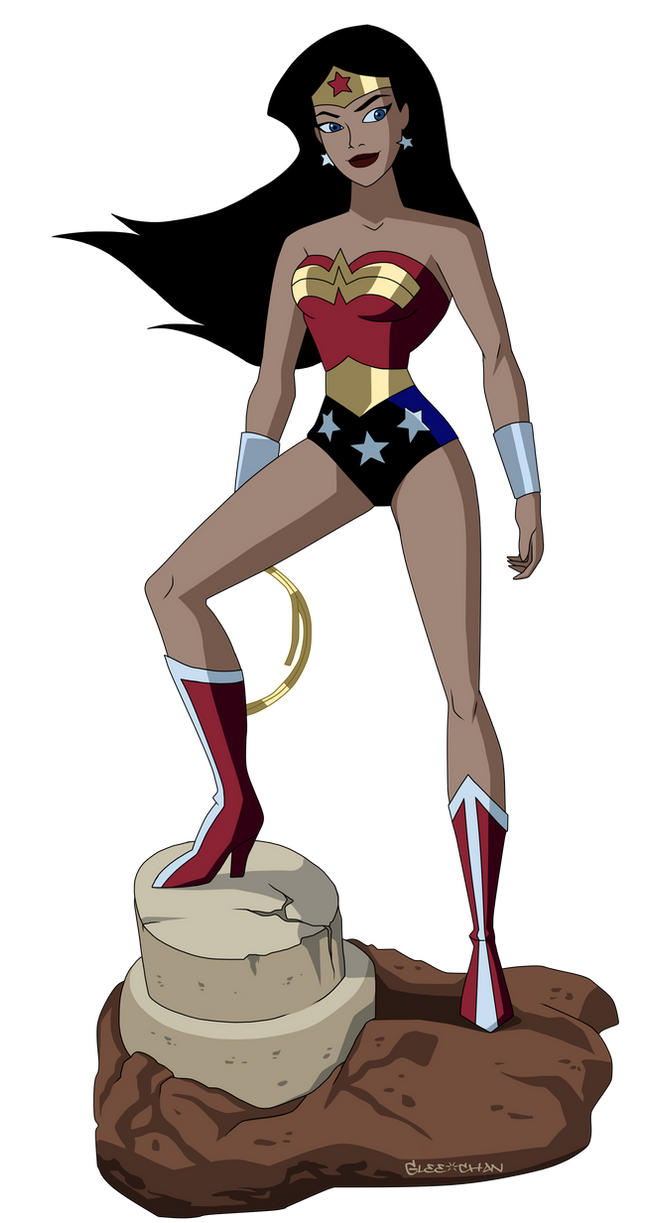 Wonder Woman Unlimited by Glee-chan