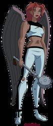 Hawkgirl: Damaged Angel by Glee-chan