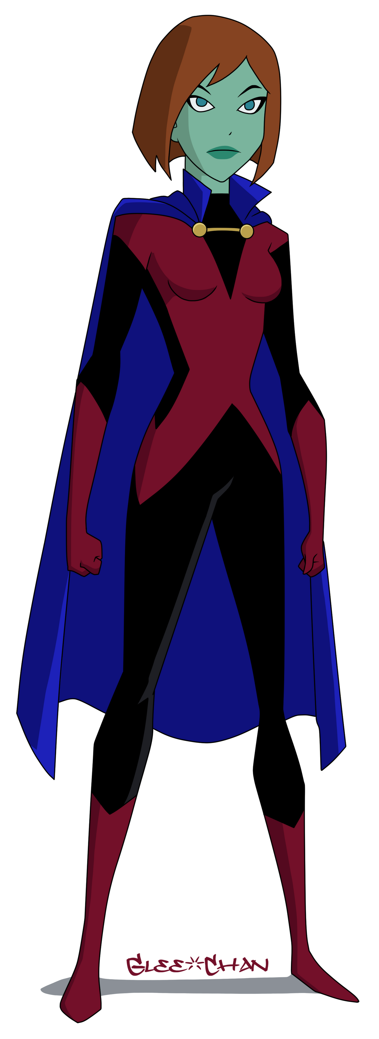 Miss Martian Unlimited By Glee Chan On Deviantart