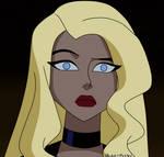 Black Canary Perplexed