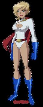 JLU: Power Girl (again again)