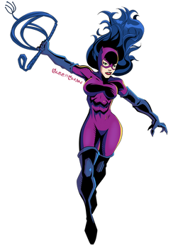 Catwoman Dropping In