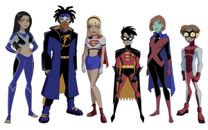 My Version of the DCAU Teen Titans