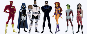 My Version of the DCAU Titans