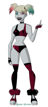 Harley in Harley's Outfit from Harley Quinn.