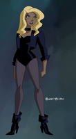 Black Canary from Double Date