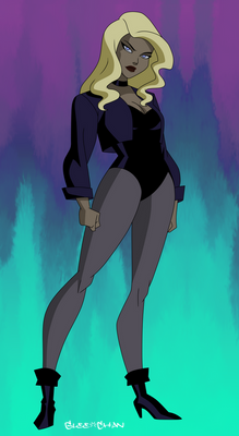 Black Canary from Grudge Match