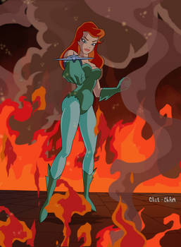Poison Ivy is Hot