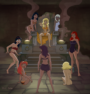The Court of Jungle Girls