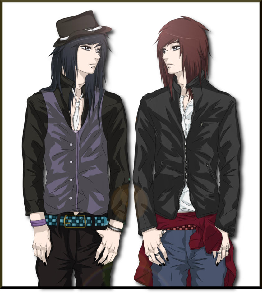 The gallery for --> Good And Evil Anime Twins