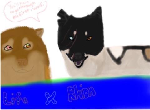 Lifa and Rhion by Arweey