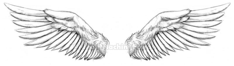wings tattoo by kiken girl on deviantart. Black Bedroom Furniture Sets. Home Design Ideas