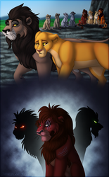 What If Illustration - As Fated by Kovu by Devinital-TLK