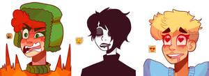 emoji doodles