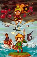 Legend of Zelda: Phantom Hourglass by tellielz