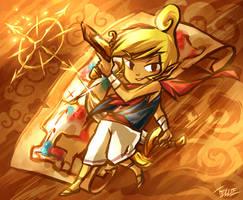 Warrior pirate by tellielz