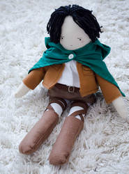 Levi Rivaille doll by lemosart