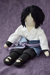 Sasuke doll by lemosart
