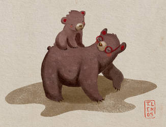 2 bears by lemosart