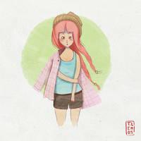 Girl by lemosart