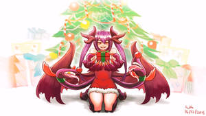 Commission - Jabberwocky Christmas
