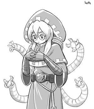 Tech Priestess Cog Sign?